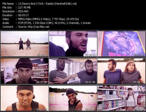 Screenshot of Music Video Deorro And J-Trick - Rambo (Hardwell Edit)