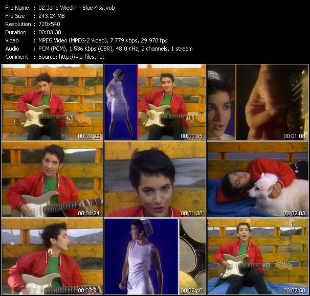 Jane Wiedlin video vob