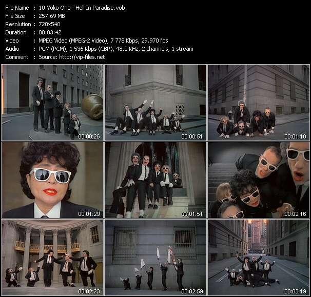 Yoko Ono video vob