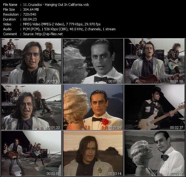 Screenshot of Music Video Cruzados - Hanging Out In California