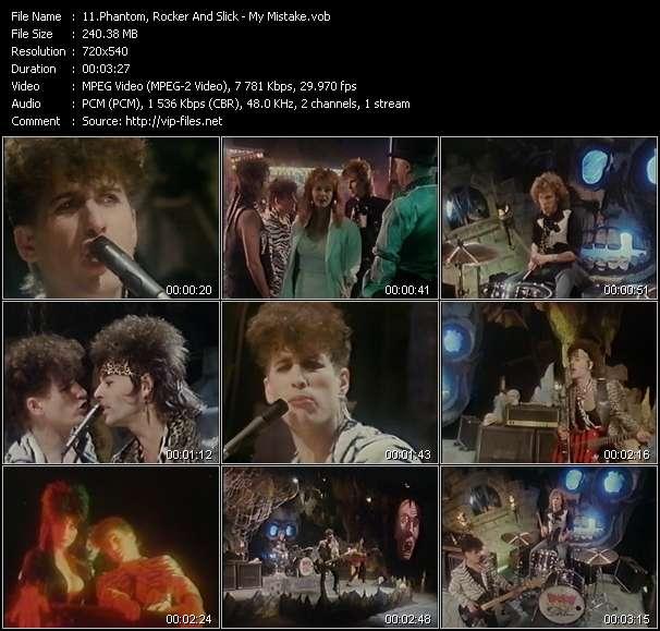 Screenshot of Music Video Phantom, Rocker And Slick - My Mistake