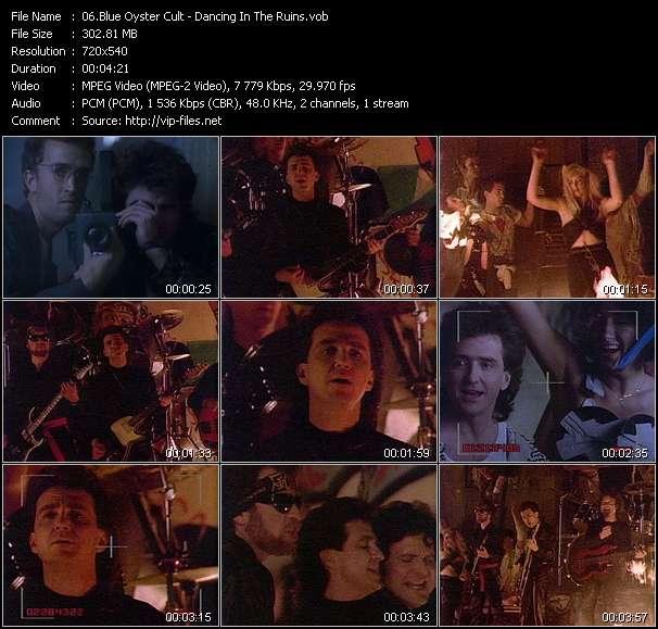Blue Oyster Cult video vob