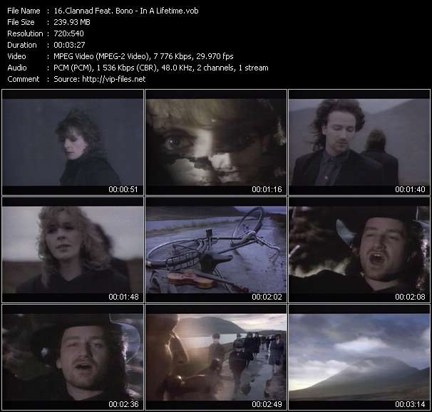 Clannad Feat. Bono video vob