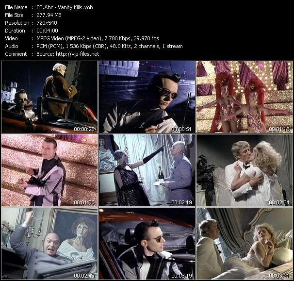 Screenshot of Music Video Abc - Vanity Kills
