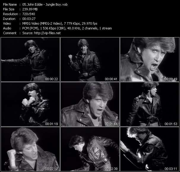 Screenshot of Music Video John Eddie - Jungle Boy