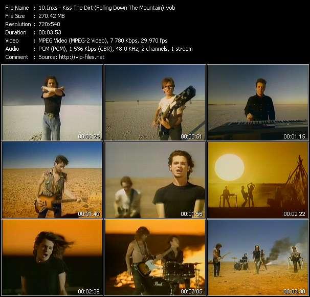 Screenshot of Music Video Inxs - Kiss The Dirt (Falling Down The Mountain)