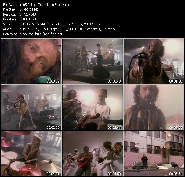 Screenshot of Music Video Jethro Tull - Jump Start