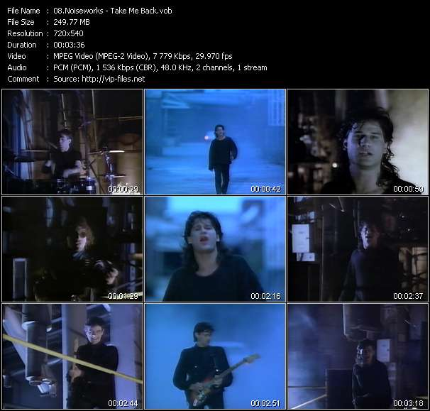 Screenshot of Music Video Noiseworks - Take Me Back