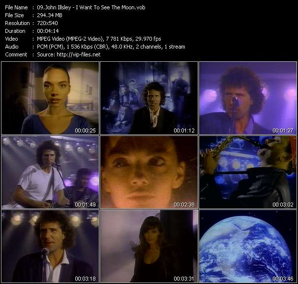 Screenshot of Music Video John Illsley - I Want To See The Moon