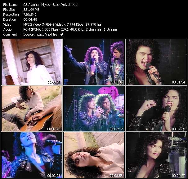 Alannah Myles video vob