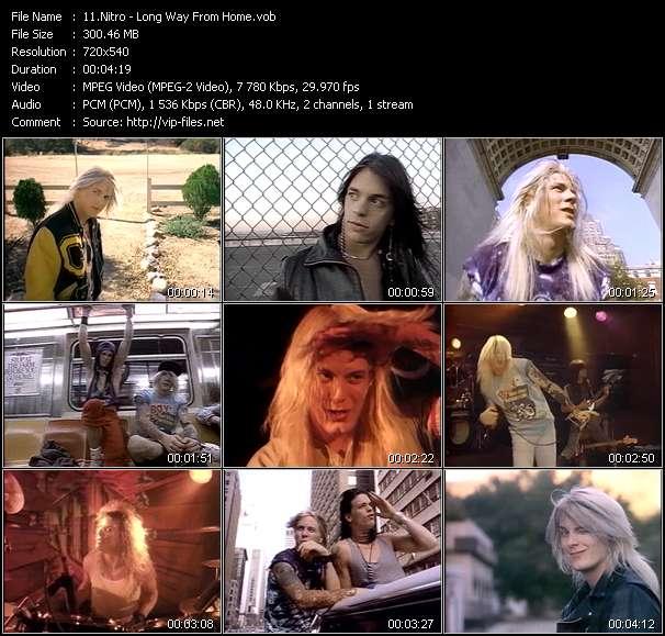 Screenshot of Music Video Nitro - Long Way From Home