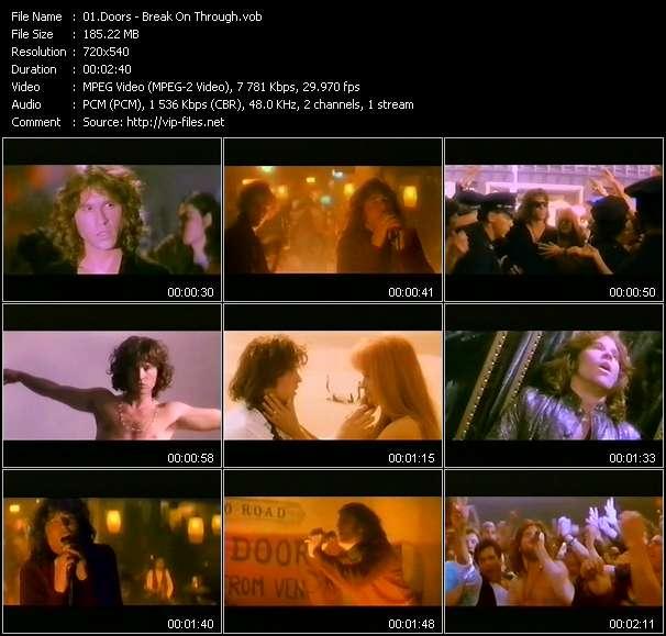 Screenshot of Music Video Doors - Break On Through