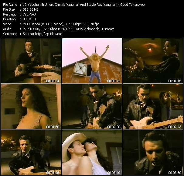 Screenshot of Music Video Vaughan Brothers (Jimmie Vaughan And Stevie Ray Vaughan) - Good Texan