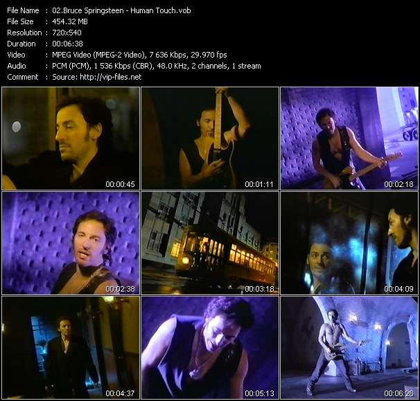 Bruce Springsteen видеоклип vob