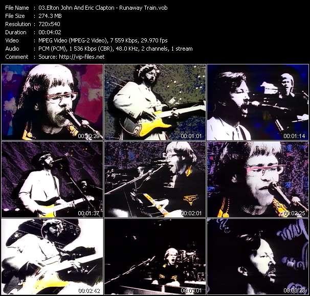 Elton John And Eric Clapton video vob