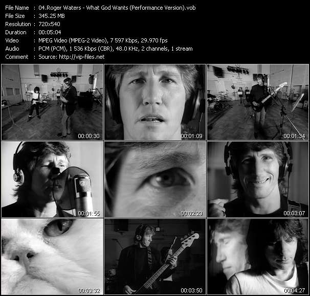 Roger Waters video vob