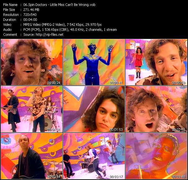 Spin Doctors video vob