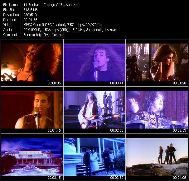 Bonham clips musicaux vob