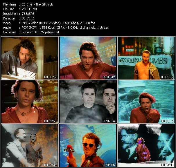 Screenshot of Music Video Inxs - The Gift