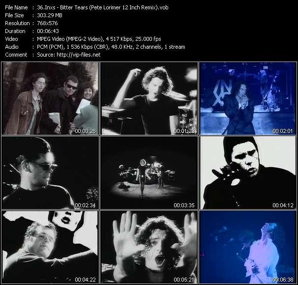 Screenshot of Music Video Inxs - Bitter Tears (Pete Lorimer 12 Inch Remix)