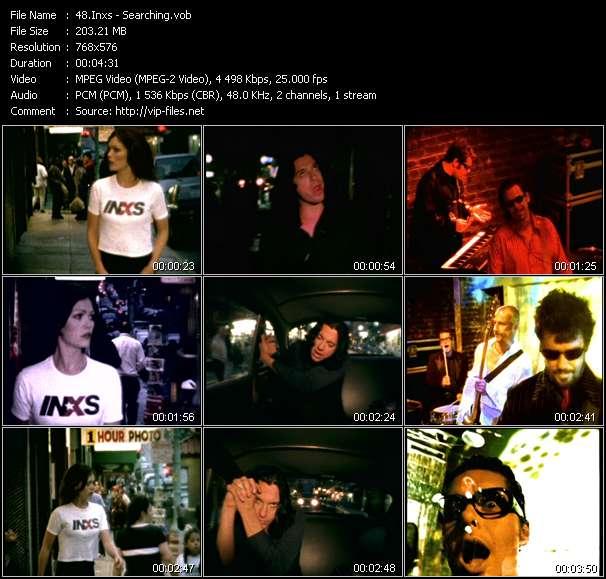 Screenshot of Music Video Inxs - Searching