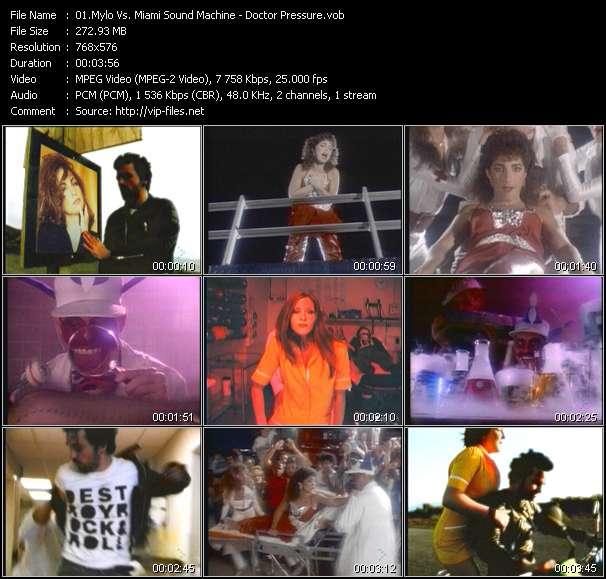 Mylo Vs. Miami Sound Machine видеоклип vob