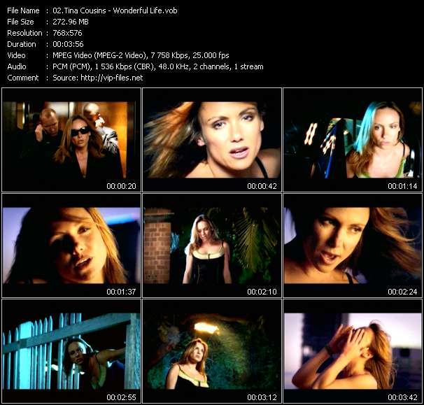Screenshot of Music Video Tina Cousins - Wonderful Life