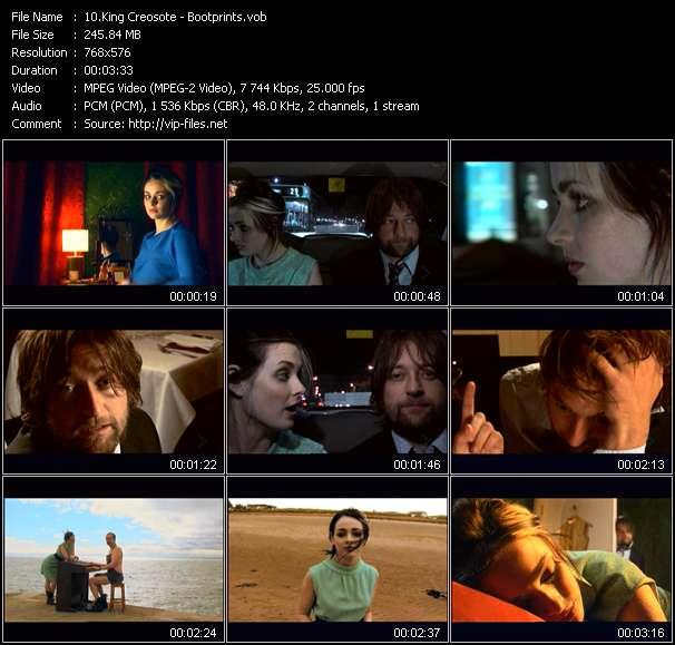 Screenshot of Music Video King Creosote - Bootprints
