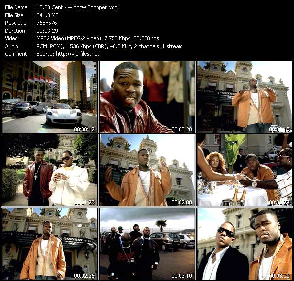 50 Cent video vob