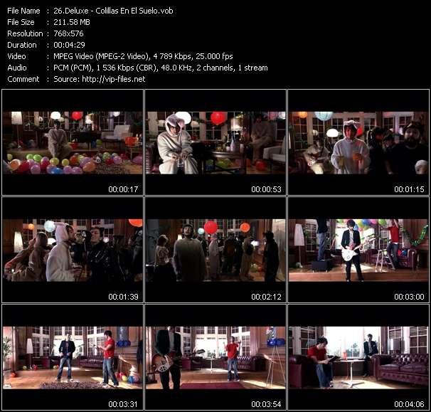 Screenshot of Music Video Deluxe - Colillas En El Suelo