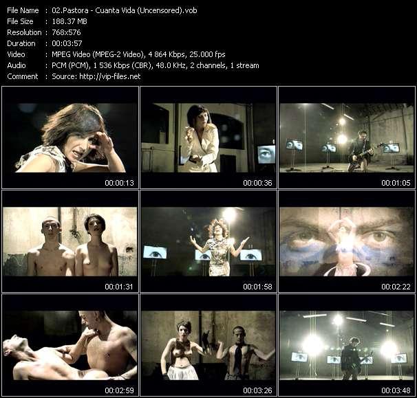 Pastora clips musicaux vob