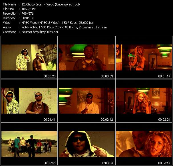 Choco Bros. видеоклип vob