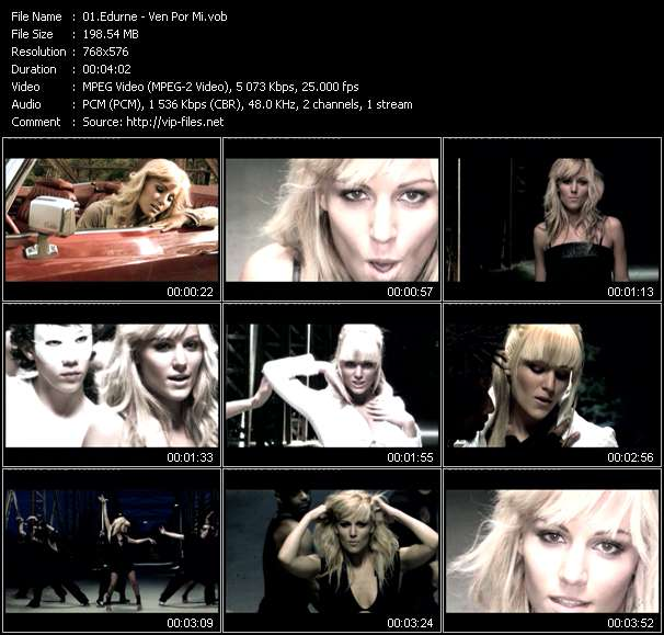 Edurne video vob