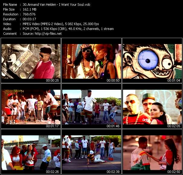 Screenshot of Music Video Armand Van Helden - I Want Your Soul