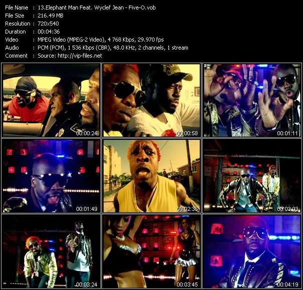 Elephant Man Feat. Wyclef Jean видеоклип vob