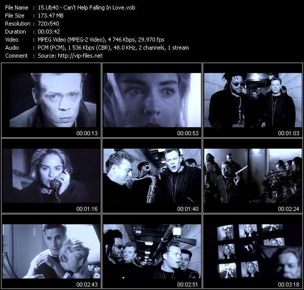 Ub40 видеоклип vob