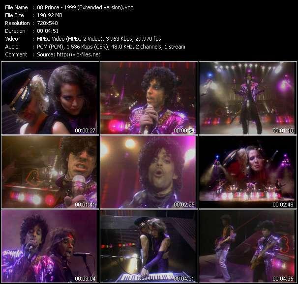Prince video vob