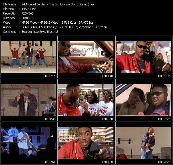 Montell Jordan видеоклип vob
