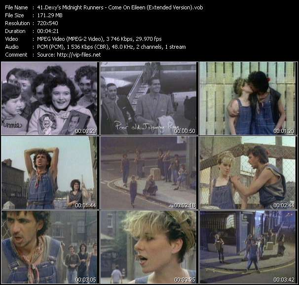 Screenshot of Music Video Dexy's Midnight Runners - Come On Eileen (Extended Version)
