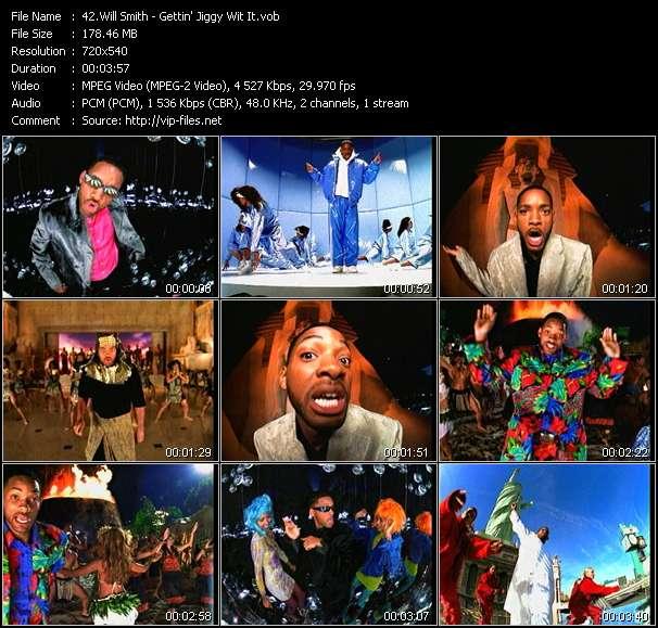 Screenshot of Music Video Will Smith - Gettin' Jiggy Wit It