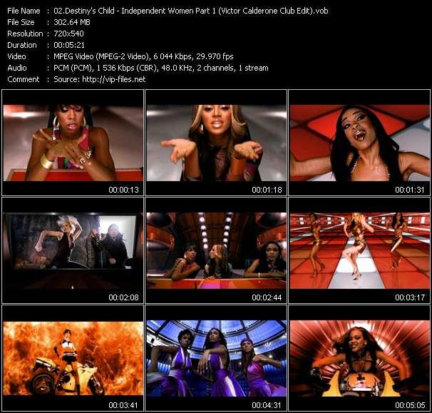 Destiny's Child видеоклип vob