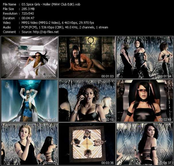 Spice Girls видеоклип vob