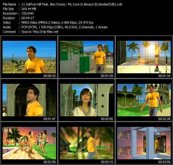 Saffron Hill Feat. Ben Onono video vob