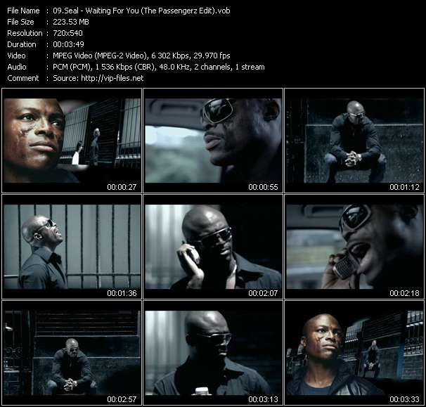 Seal video vob