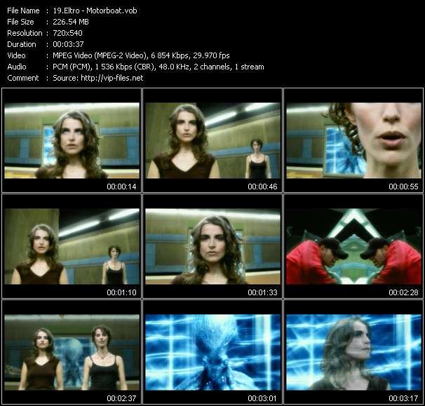 Screenshot of Music Video Eltro - Motorboat