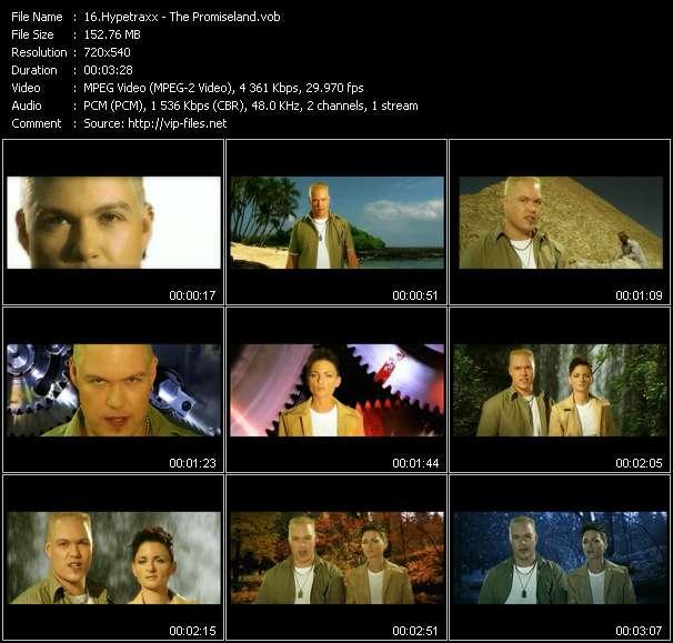 Screenshot of Music Video Hypetraxx - The Promiseland