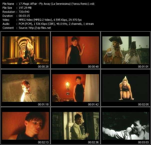 Screenshot of Music Video Magic Affair - Fly Away (La Serenissima) (Yanou Remix)