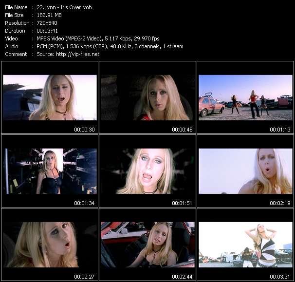 Screenshot of Music Video Lynn - It's Over