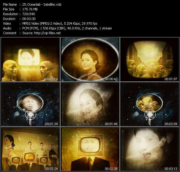 Screenshot of Music Video Oceanlab - Satellite