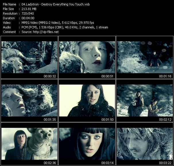 Ladytron video vob